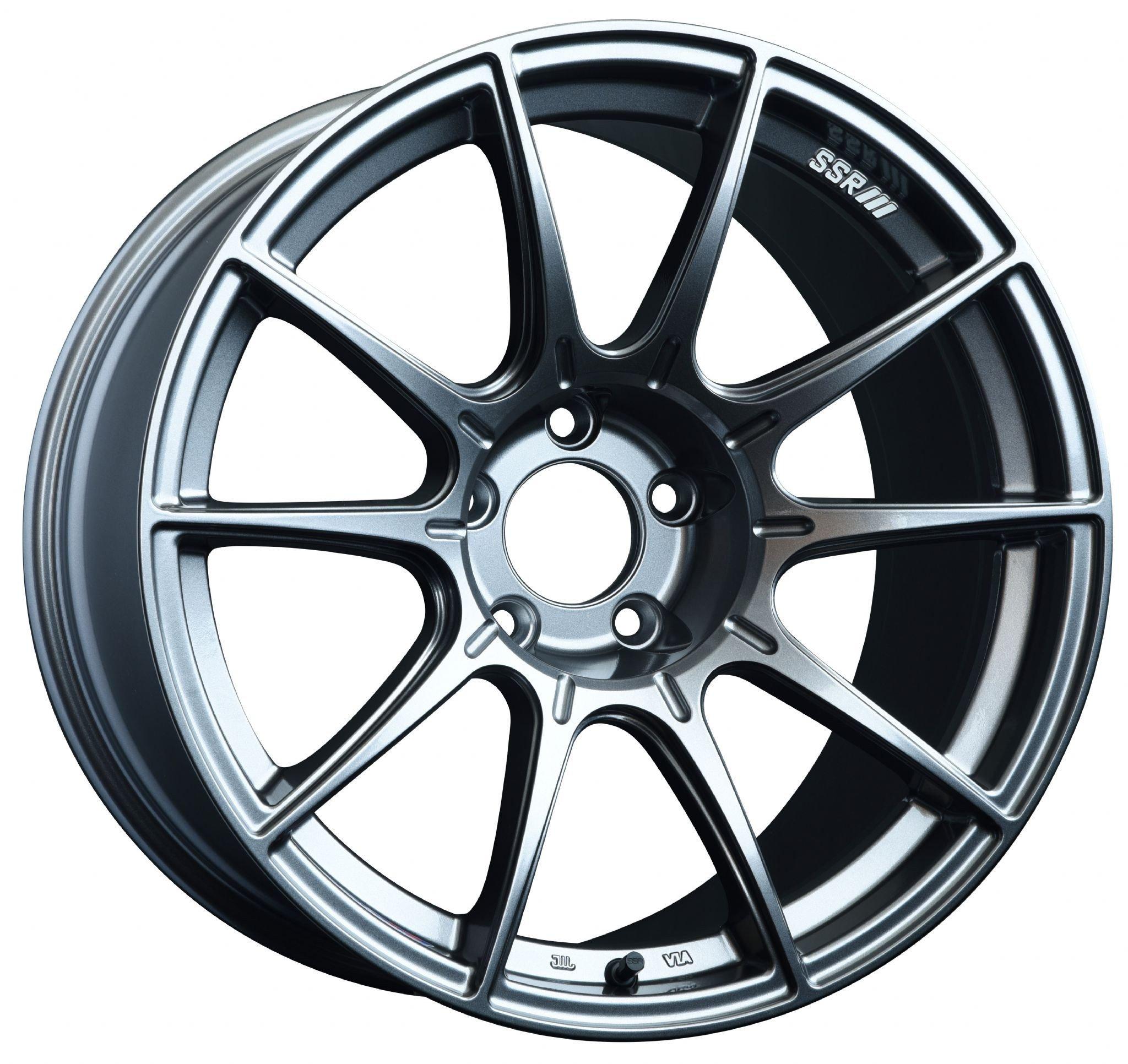 ssr-gtx01-18×9.5-rim-size-5×100-bolt-pattern-40mm-offset-dark-silver-wheel-scion-frs-subaru-brz-173035-p